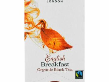 Hampstead Tea English Breakfast Black Tea Organic