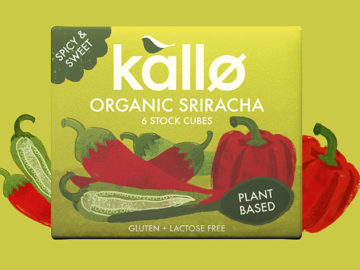 Kallo Sriracha Stock Cube Organic