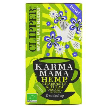Clipper Karma Mama Hemp Chamomile & Tulsi Tea Organic