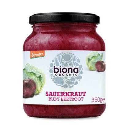 Biona Ruby Beetroot Sauerkraut Organic