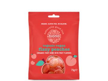 Biona Fizzy Peaches Organic