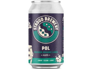 Stroud Brewery POL Premium Organic Lager