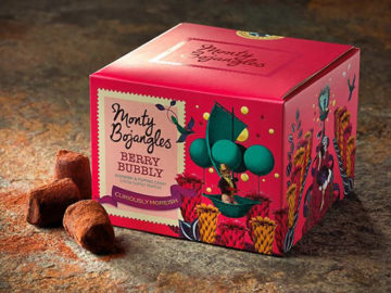 Monty Bojangles Berry Bubbly Cocoa Dusted Truffles