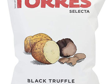 Torres Selecta Black Truffle Premium Potato Chips 40g