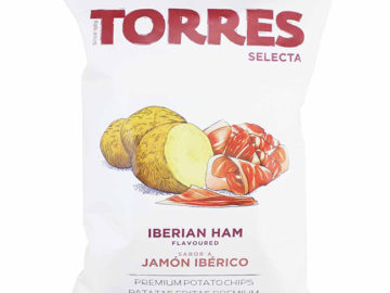 Torres Iberian Ham Potato Crisps 150g