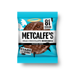 Metcalfe's Milk Chocolate Rice Cakes