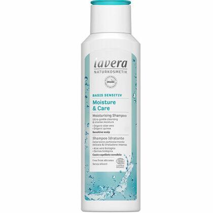 Lavera Basis Sensitiv Moisture & Care Moisturising Shampoo