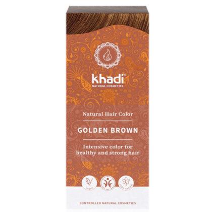 Khadi Golden Brown Natural Hair Colour