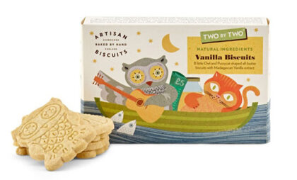 Artisan Two by Two Vanilla Biscuits
