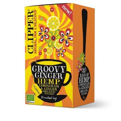 Clipper Groovy Ginger Hemp Tea Organic