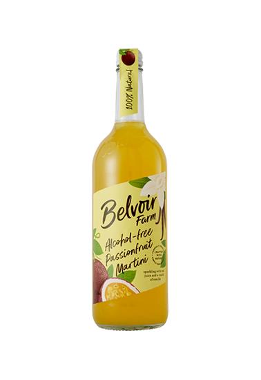 Belvoir Alcohol-Free Passionfruit Martini