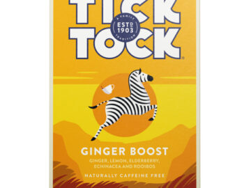 Tick Tock Ginger Boost Teabags