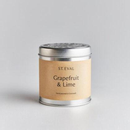 St Eval Grapefruit & Lime Candle Tin 220g