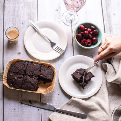 The Brook Double Chocolate Brownie