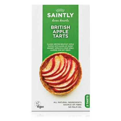 Saintly British Apple Tarts
