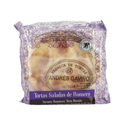Fabrica De Tortas Andres Gavino Savoury Rosemary Torta Biscuits