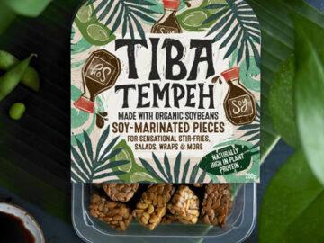 Tiba Tempeh Soy-Marinated Pieces Organic
