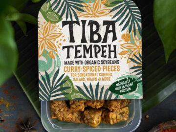Tiba Tempeh Curry-Spiced Pieces Organic