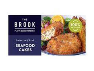 Brook Vegan Lemon Herb Seafood Cake