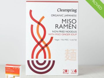 Clearspring Miso Ramen Noodles Organic