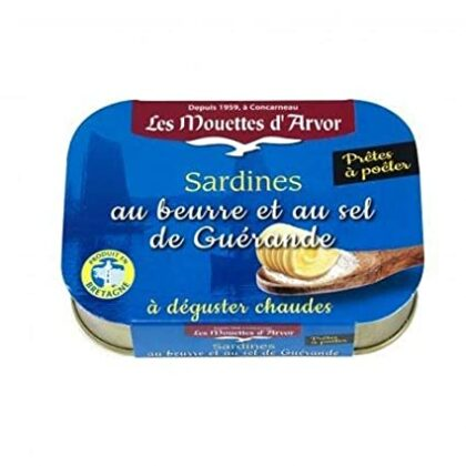 Les Mouettes d'Arvor Sardines Ready to Heat and Eat