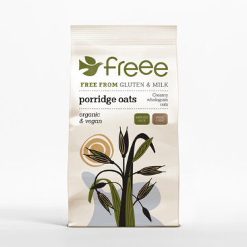 Doves Farm Gluten Free Porridge Oats Organic