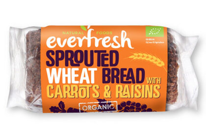 Everfresh Sprouted Wheat Bread With Carrots & Raisins Organic