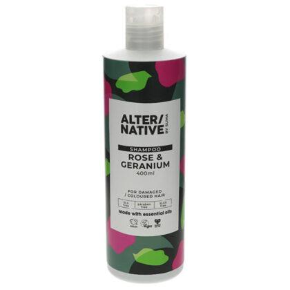 Alter/Native by Suma Rose & Geranium Shampoo 400ml