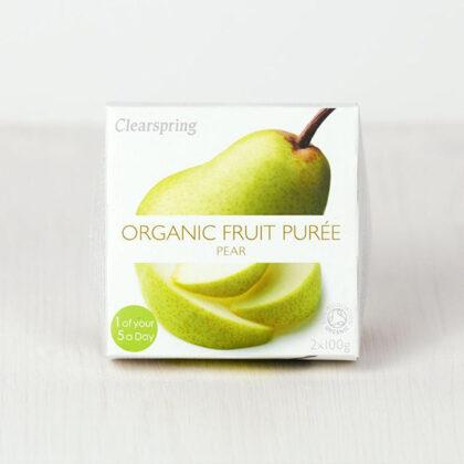 Clearspring Pear Puree Organic