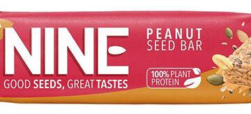 Nine Peanut & Seed Bar