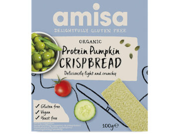 Amisa Protein Pumpkin Crispbread Organic