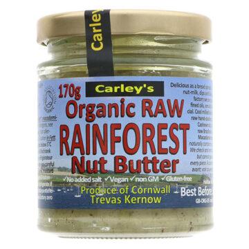 Carley's Raw Rainforest Nut Butter Organic