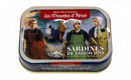 Mouettes D' Arvor Sardines In Extra Virgin Olive Oil Vintage 2019