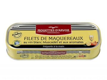 Mouettes D'Arvor Marinated Mackerel Fillets With Muscadet & Spices