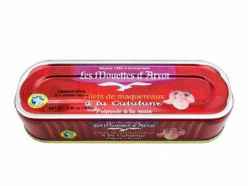 Mouettes D'Arvor Mackerel Fillets In Catalane Tomato Sauce