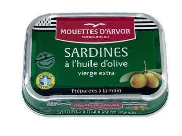 Mouettes D'Arvor Sardines In Extra Virgin Olive Oil