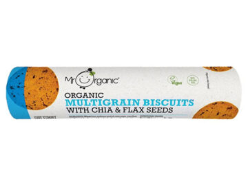 Mr Organic Multigrain Biscuits With Chia & Flax Seeds Organic