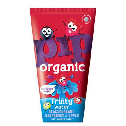 Pip Blackcurrant Raspberry & Apple Fruity Water Organic