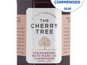 The Cherry Tree Strawberry With Marc De Champagne