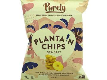 Purely Sea Salt Plantain Chips
