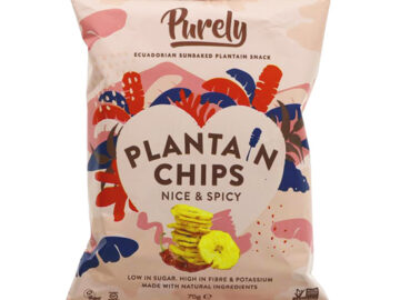 Purely Plantain Chips Nice & Spicy