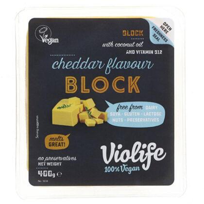Violife Cheddar Flavour Block