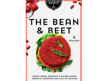 Strong Roots The Bean & Beet Burger