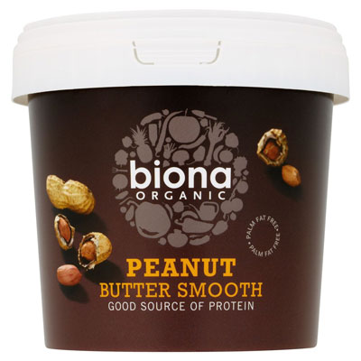 Biona Smooth Peanut Butter Organic 1kg ~ 20% off