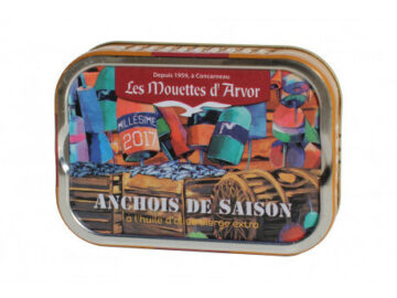 Les Mouettes d'Arvor Anchovies in Extra Virgin Olive Oil