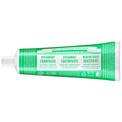 Dr. Bronner's Spearmint Toothpaste Fluoride Free