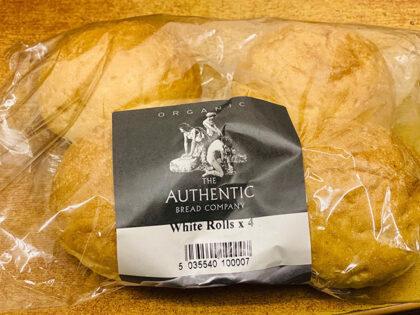 Authentic Bread Company White Rolls Organic