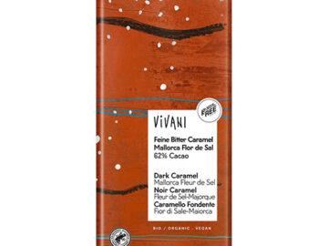 Vivani Dark Caramel Mallorca Fleur De Sel Organic