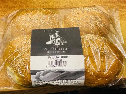 Authentic Bread Company Brioche Buns Organic