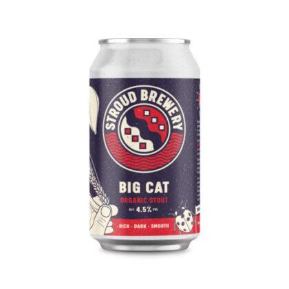 Stroud Brewery Big Cat Stout 330ml Organic